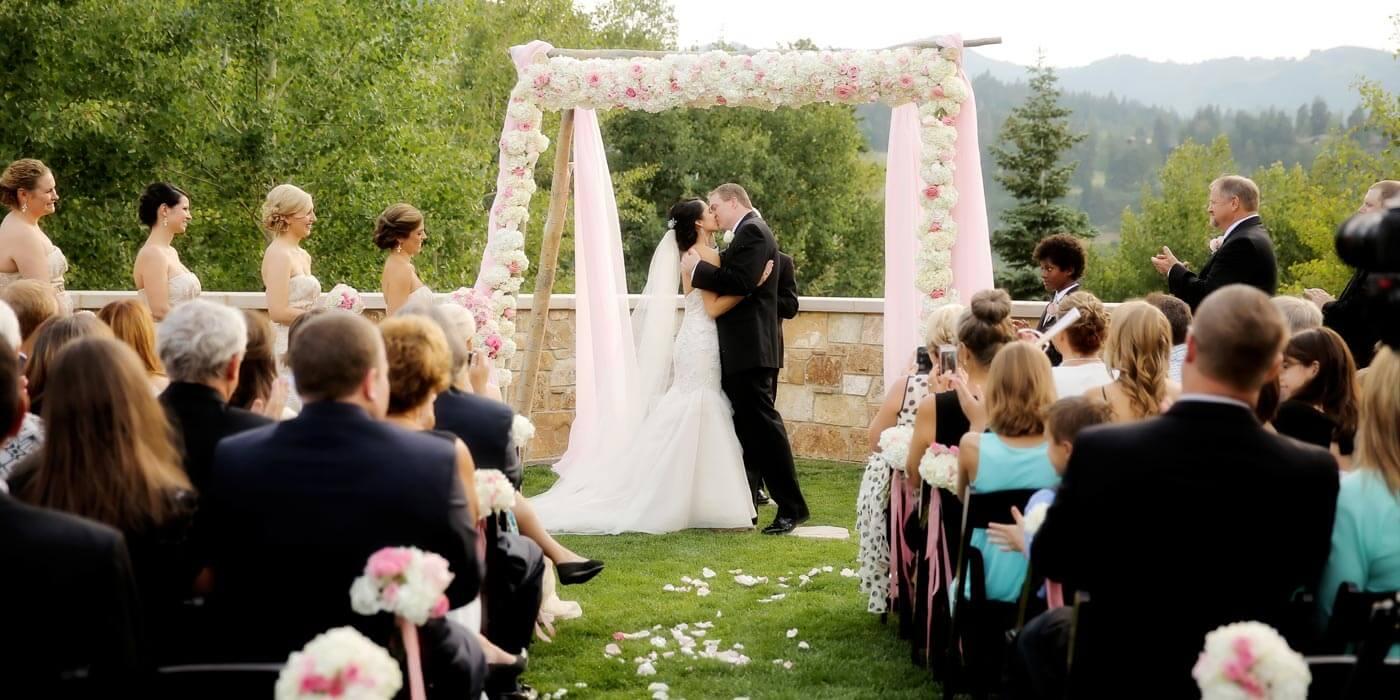 Rosa Hochzeit