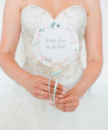 Handfächer Hochzeit