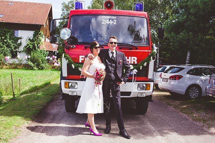 Feuerwehr Hochzeit