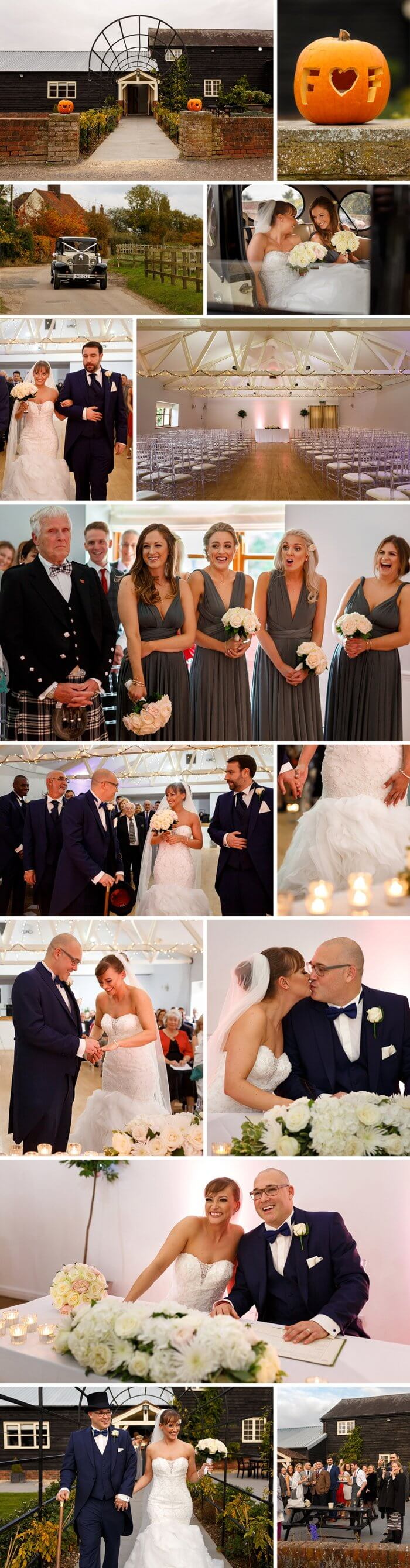 Hochzeitsdeko Grau