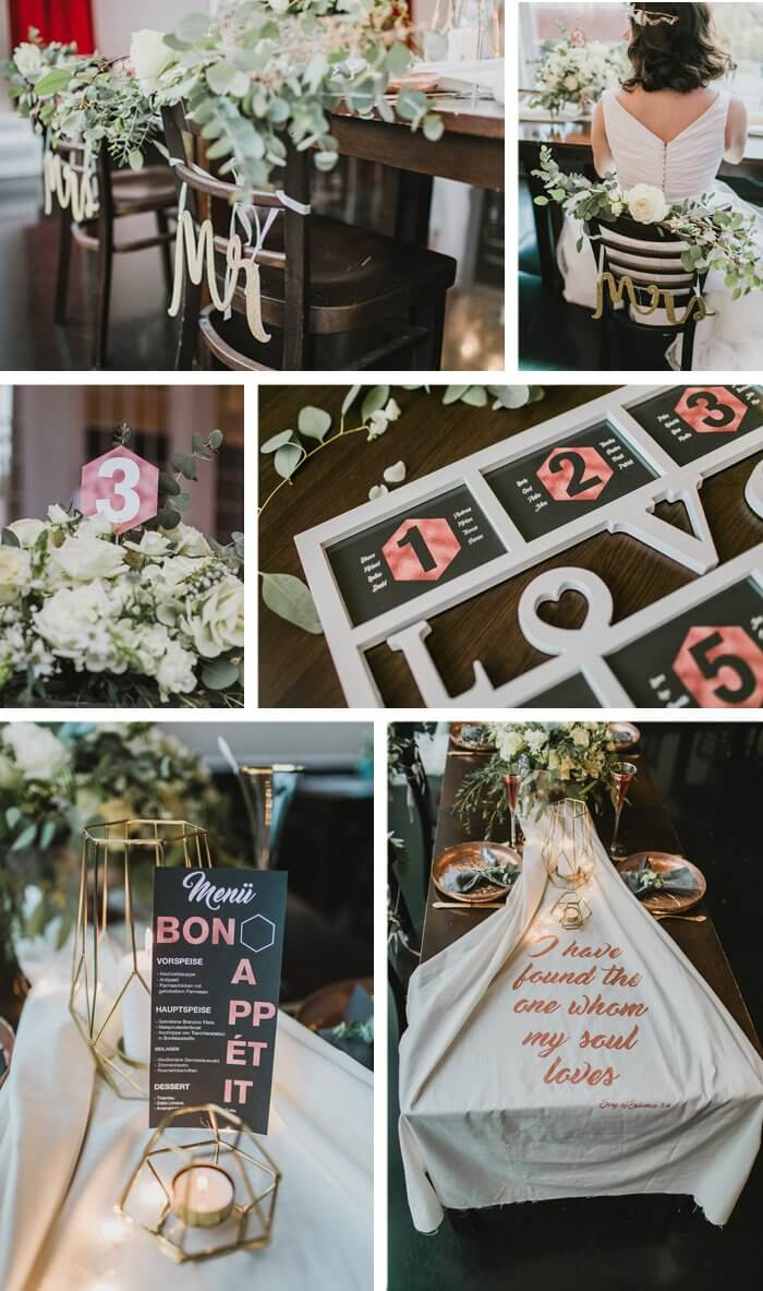 Hochzeitsdeko September