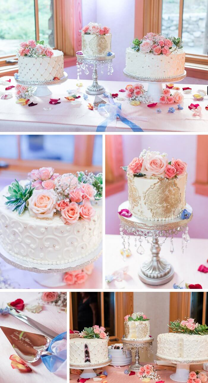 Hochzeitstorte Hochzeit in grau
