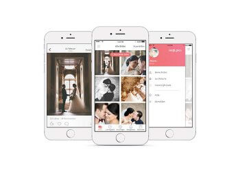 Online Hochzeitsalbum