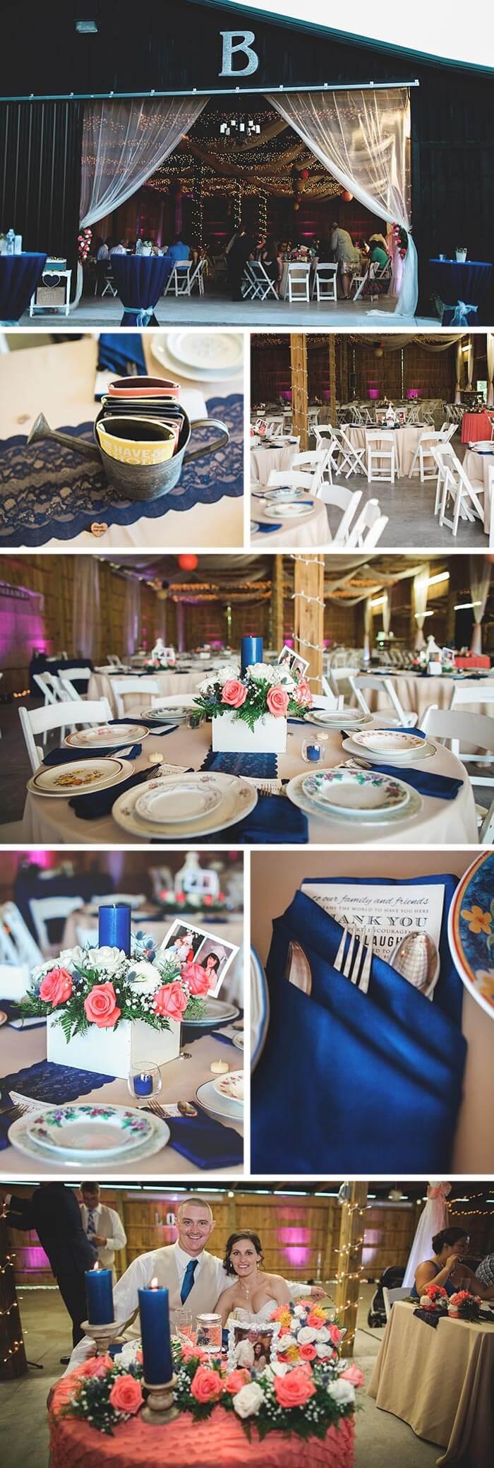 Tischdeko Hochzeit Holz