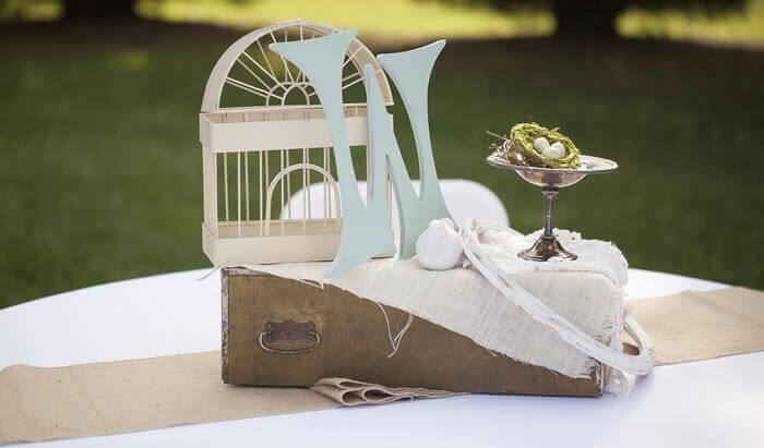 Hochzeit Vintage Deko