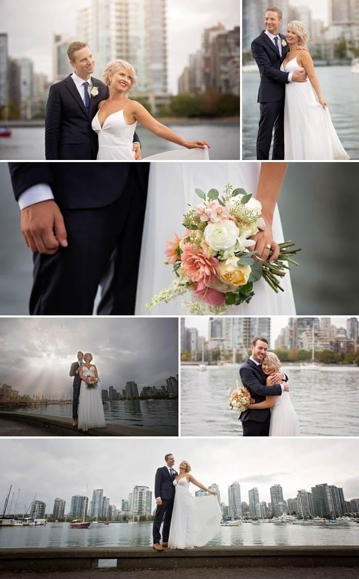 Regenschirm Hochzeit Brautpaar