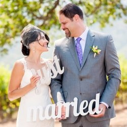 Accessoires für Hochzeitsfotos