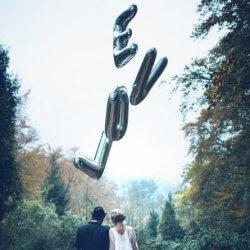 Hochzeit Luftballons Foto