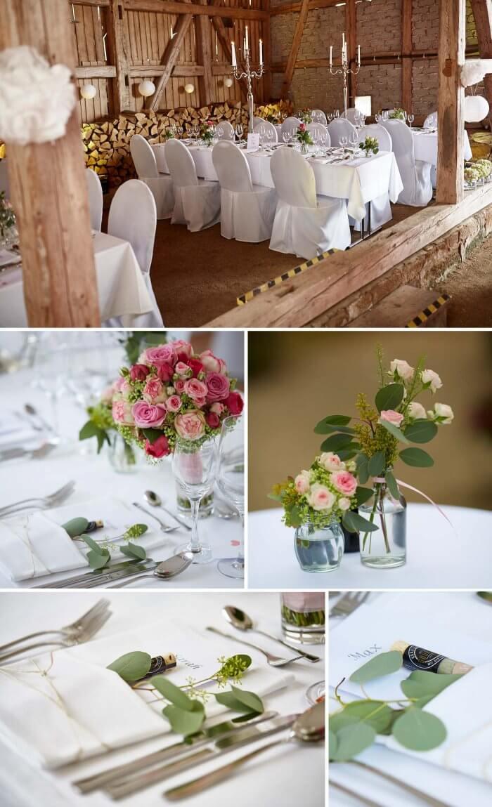Rosen Deko Hochzeit