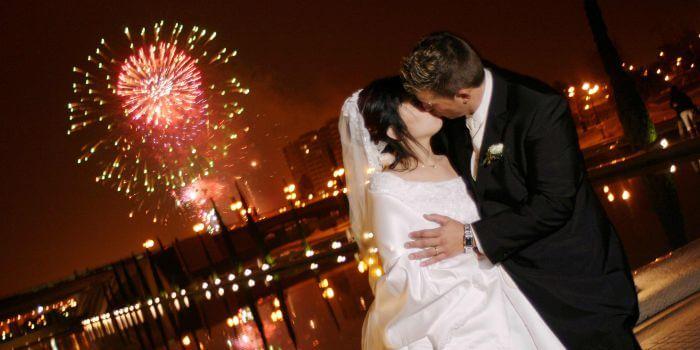 Hochzeitsfeuerwerk als Hochzeitsüberraschung