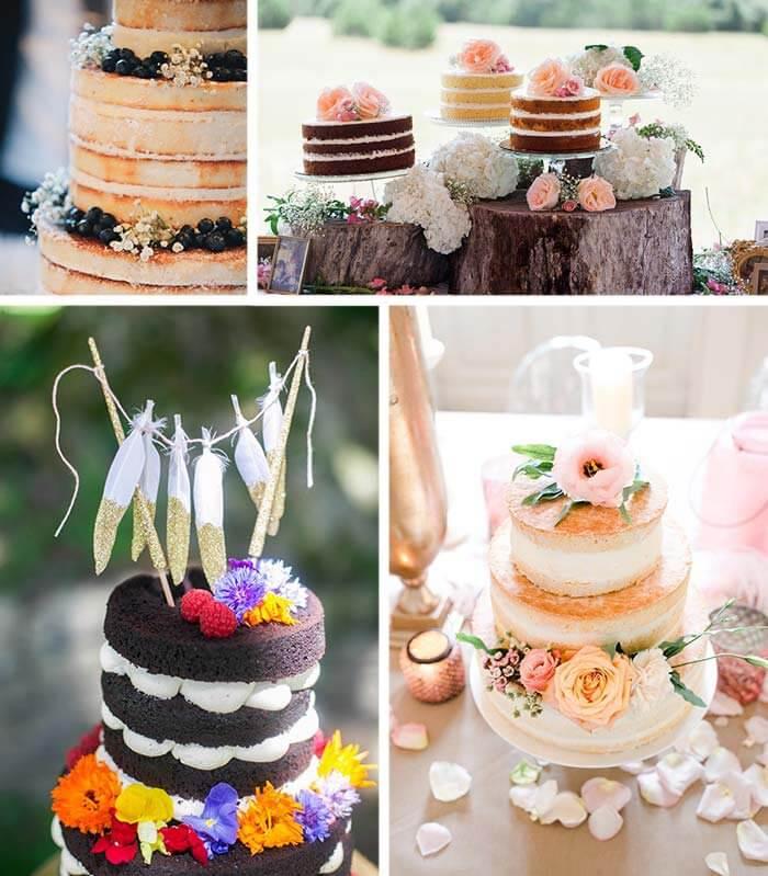 Hochzeit Naked Cake