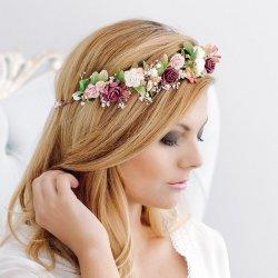 Blumen Haarkranz Hochzeit