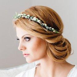 Blumenkranz Hochzeit Haare