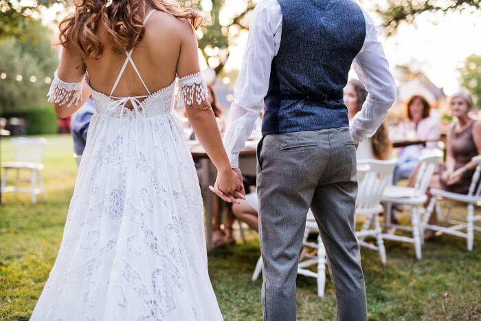 Boho Kleid Hochzeit