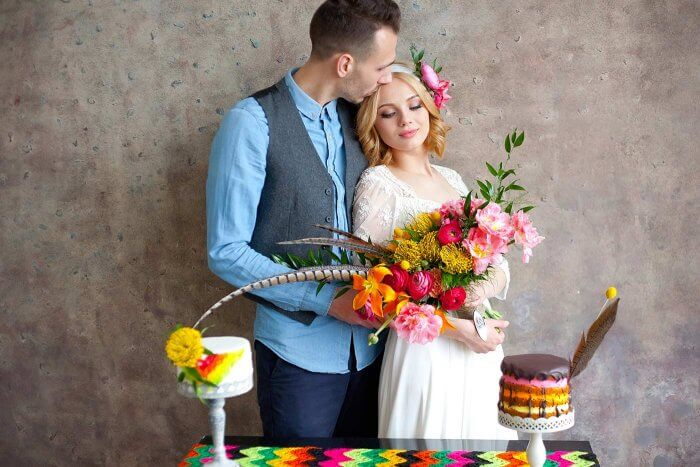 Boho Style Hochzeit