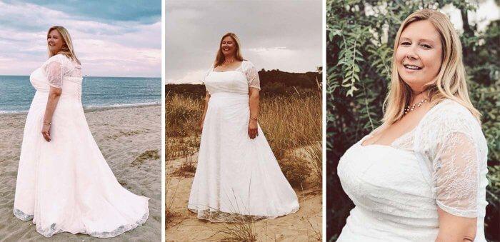 Brautkleid Größe 60