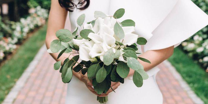Brautstrauß mit Calla