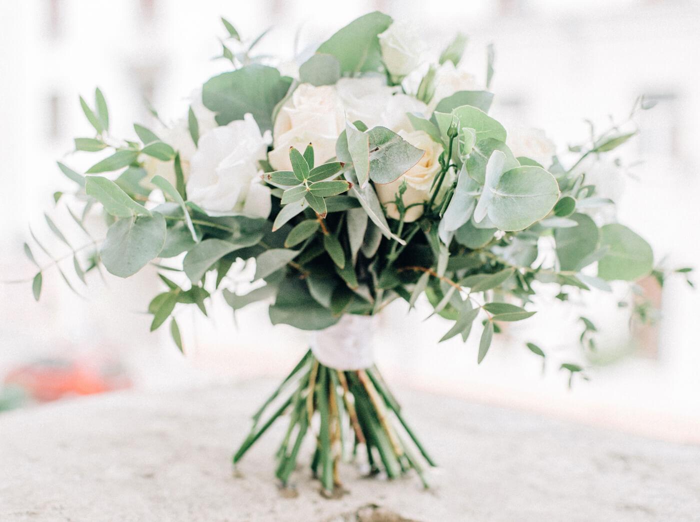 Brautstrauß Winter Blumen