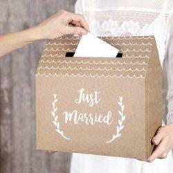 Geldgeschenkbox Hochzeit
