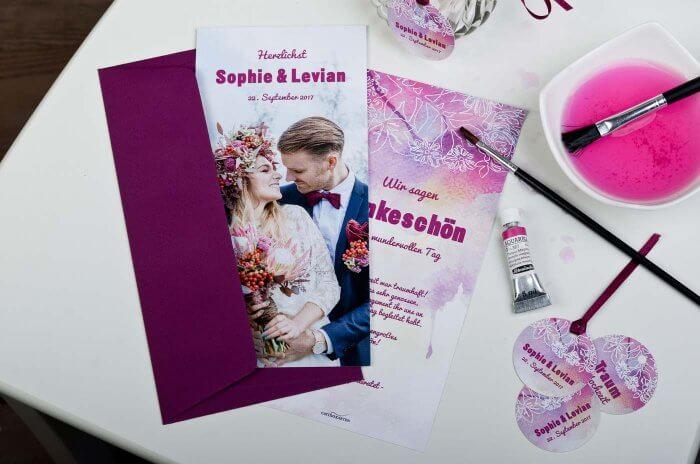 Dankeskarten Hochzeit Text