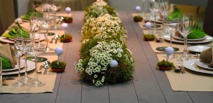 Hochzeit Grün