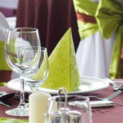 Servietten Grün Hochzeit