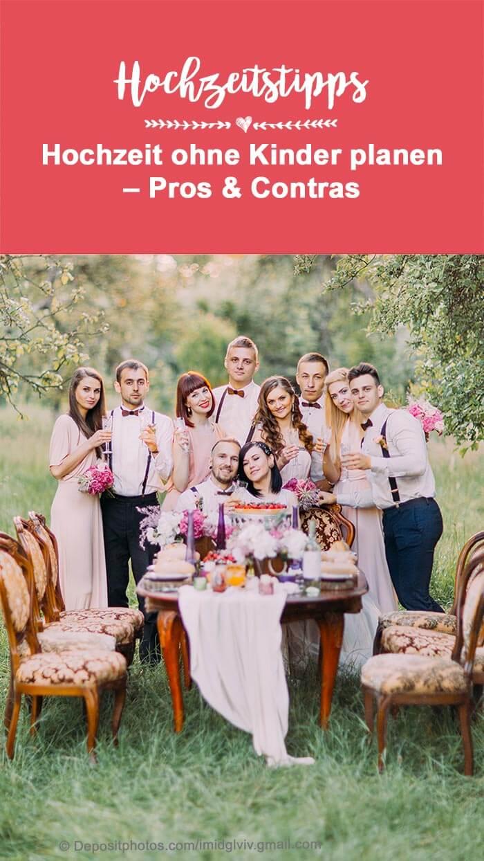 Hochzeitseinladung ohne Kinder
