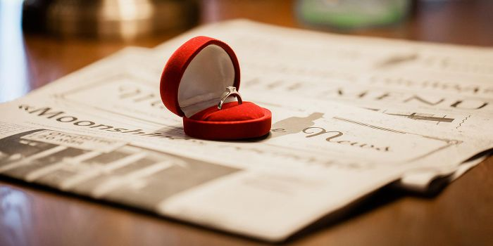 Hochzeitsanzeigen Verlobung