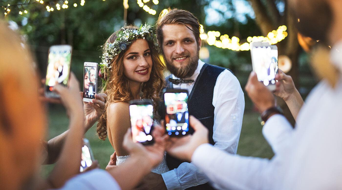 Hochzeitsfotos teilen kostenlos