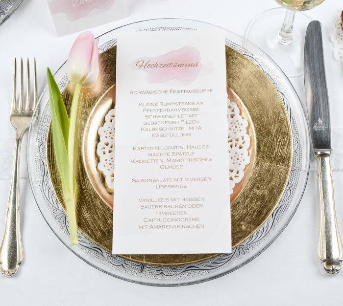 Hochzeitsmenüvorschläge