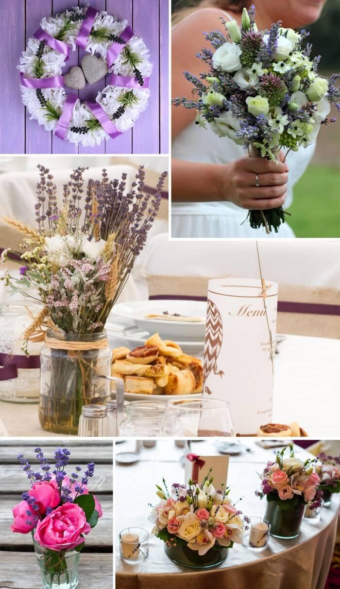 Deko Lavendel