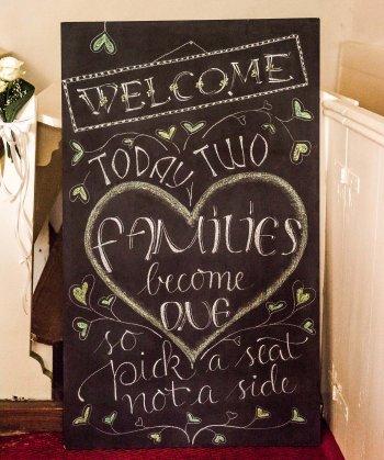Willkommen Schild Hochzeit