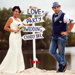 Wegweiser Hochzeit