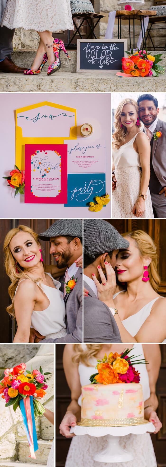Bunte Hochzeit