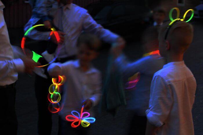 Hochzeit Knicklichter