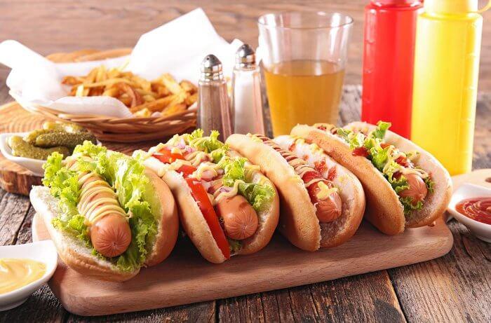 Mitternachtssnack Hotdog