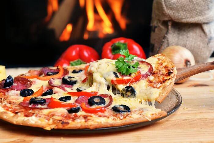 Mitternachtssnack Pizza