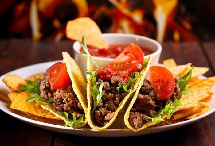 Mitternachtssnack Taco
