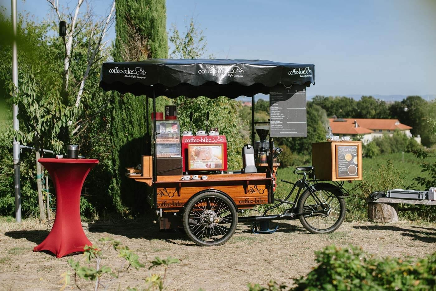 Coffee Bike mieten