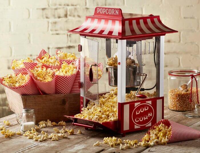 Popcornmaschine zur Hochzeit