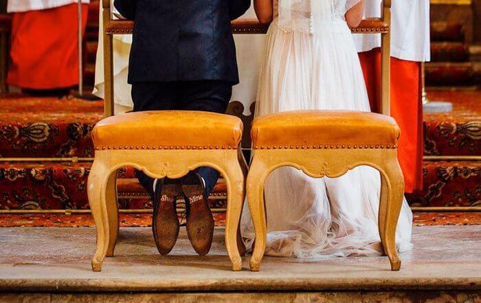 Schuhsohlen Aufkleber Hochzeit