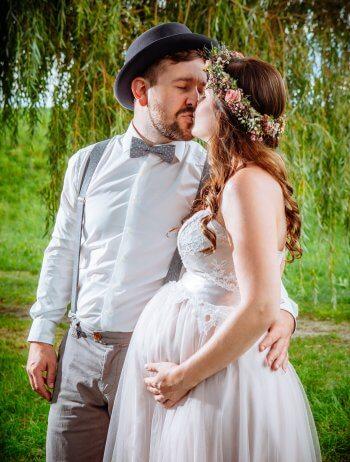 Schwanger Hochzeit