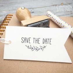 Save the Date Stempel