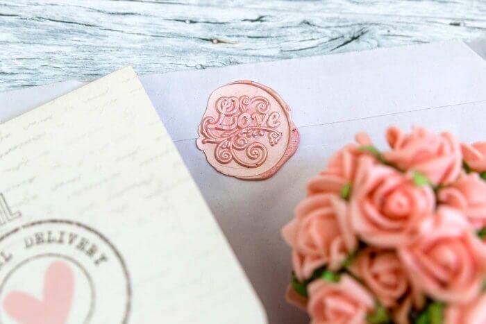 Stempel Einladung Hochzeit