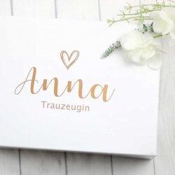 Trauzeugin Box
