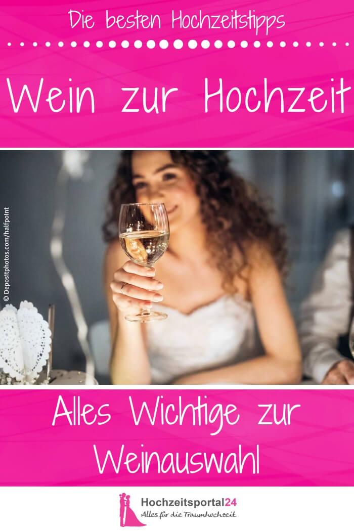 Wein zur Hochzeit