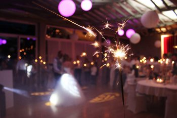 Hochzeitstanz Wunderkerzen