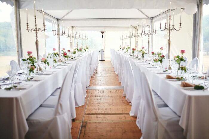 Festzelt Hochzeit