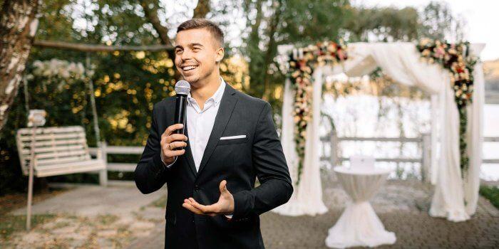 Hochzeitsmoderator