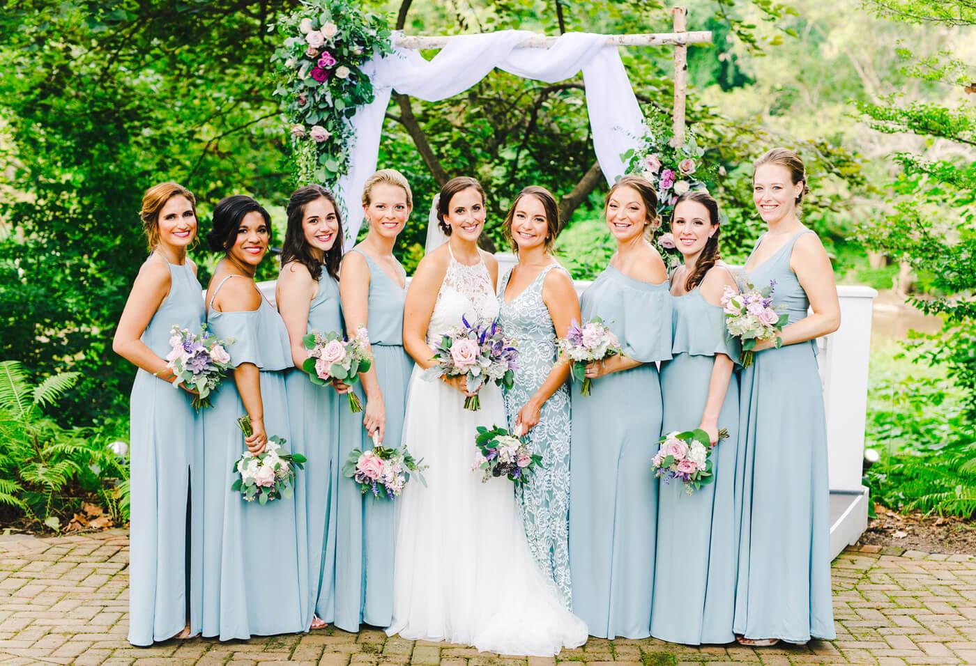 Brautjungfernkleider lang